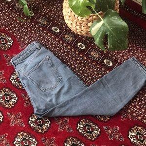 TopShop Grey Mom Jeans Petite W28/L28